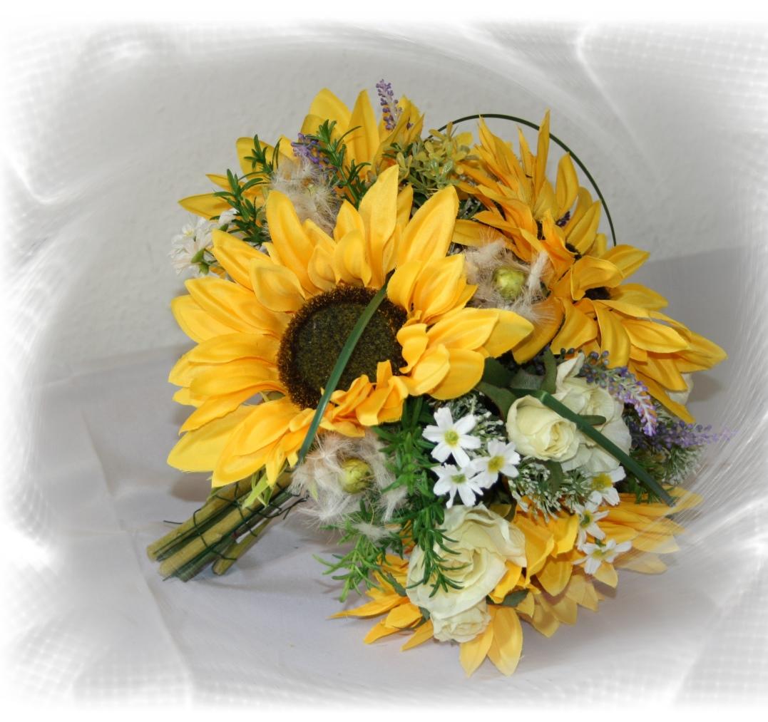 Brautstrauss Sonnenblumen gross  Brautstrauss Sonnenblumen gross ...