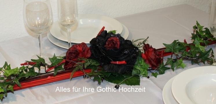 Aufleger Gothic Hochzeit