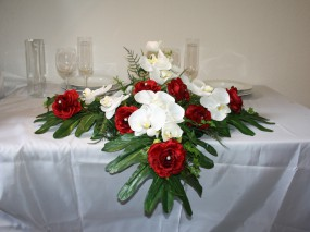 Altargesteck Orchideen