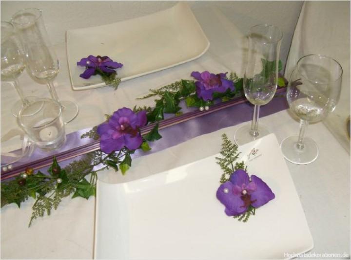 Tischdeko aufleger orchideen orchideentr ume - Tischdeko orchideen ...