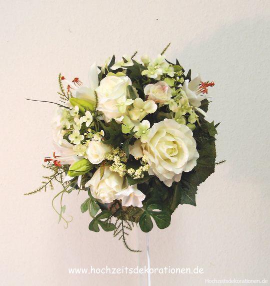 Brautstrauss Blütenmix