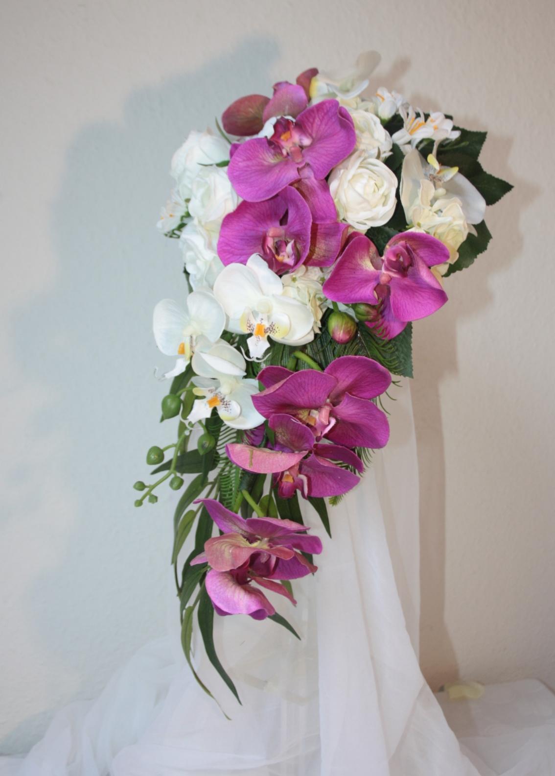 Brautstrauss Orchideen Klassik Hochzeitsdekorationen