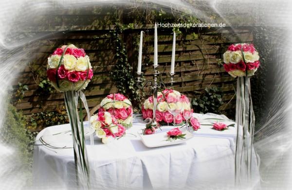 Komplettdeko Hochzeit