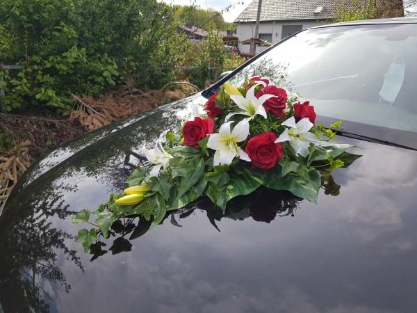 Hochzeit mit Lilien