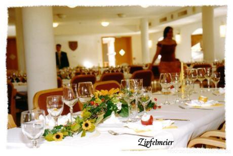 Hochzeitsdekoration sonnenblumen