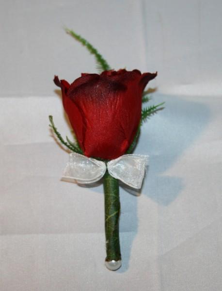reversanstecker hochzeit rose