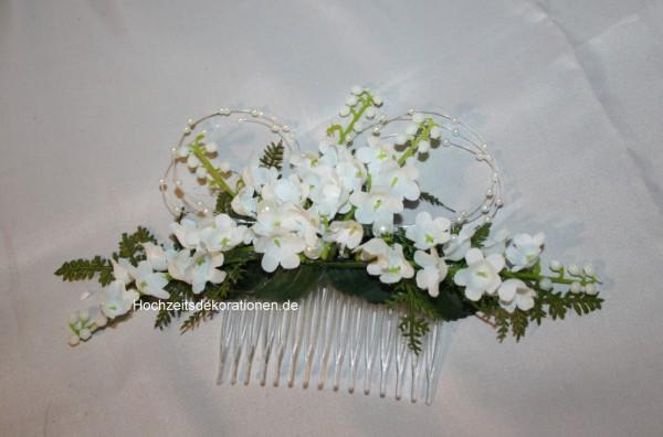 Haarkamm Hochzeit maiglöckchen