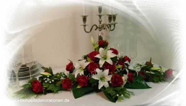 Altargesteck Hochzeit  Lilien