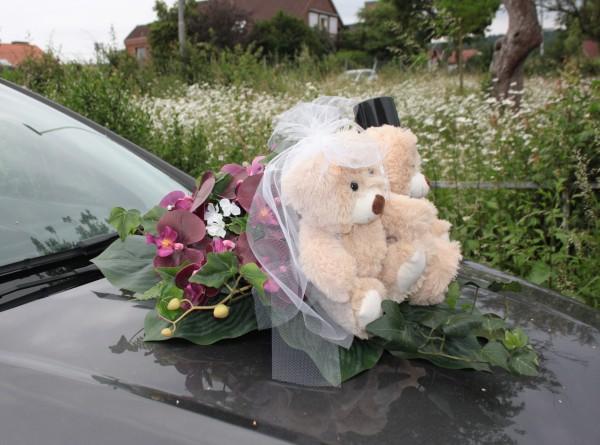Autoschmuck Bären juni