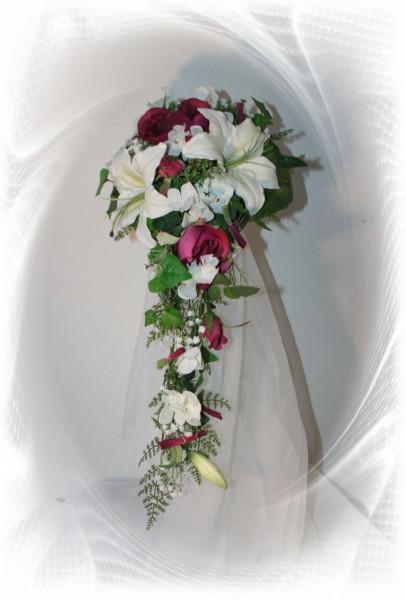 Brautstrauss Lilientropfen Hochzeitsdekorationen