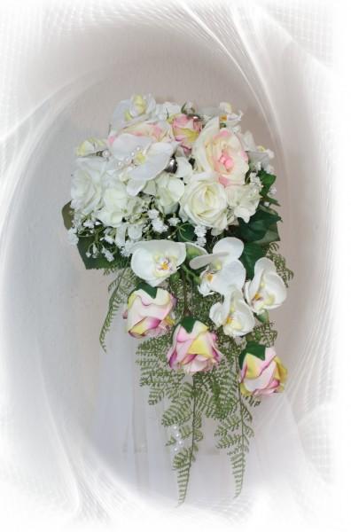 Brautstrauss orchideen 2106
