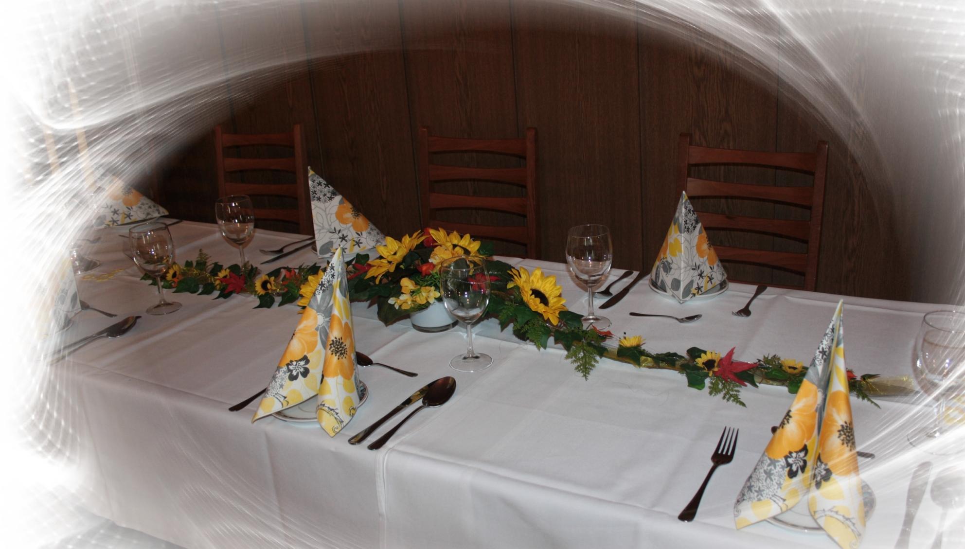 Gesteck Sonnenblumen Extra Lang Hochzeitsdekorationen