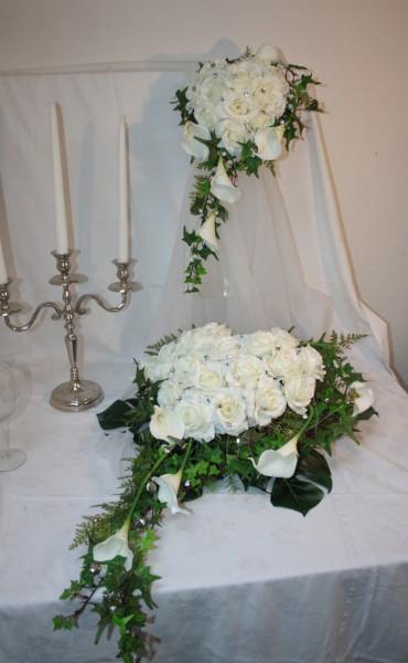 Komplettdeko Hochzeit Rosenherz