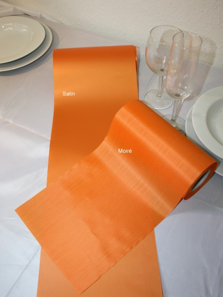 Tischband orange 20cm