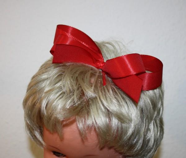 Schleife für Haar rot