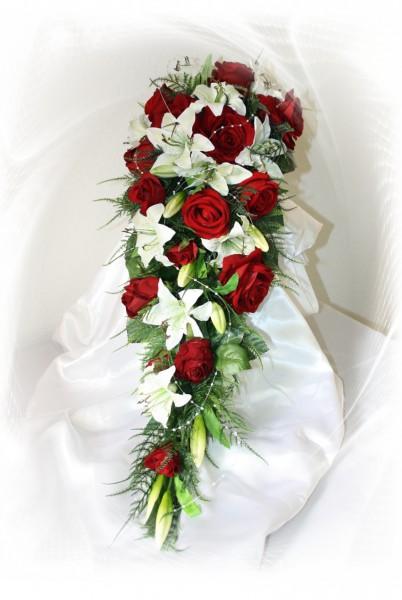 Brautstrauss Lilien extra