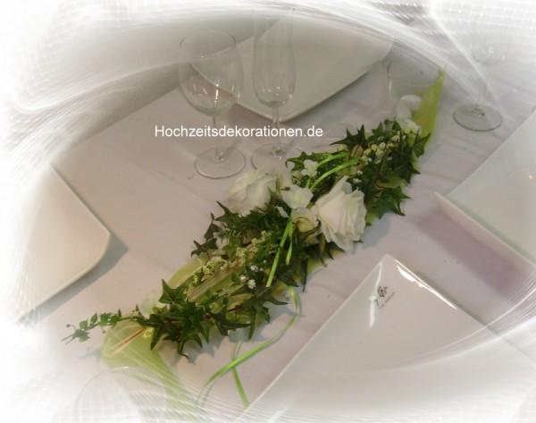 Hoichzeitsdeko aufleger rosen