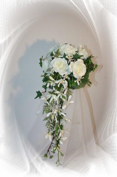 Brautstrauss Orchideen traum