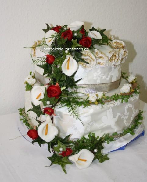 Kuchendeko Blumenranke