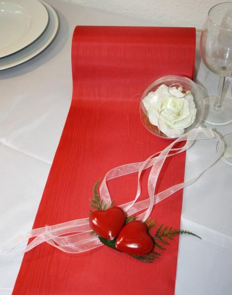 tischband rot 20cm
