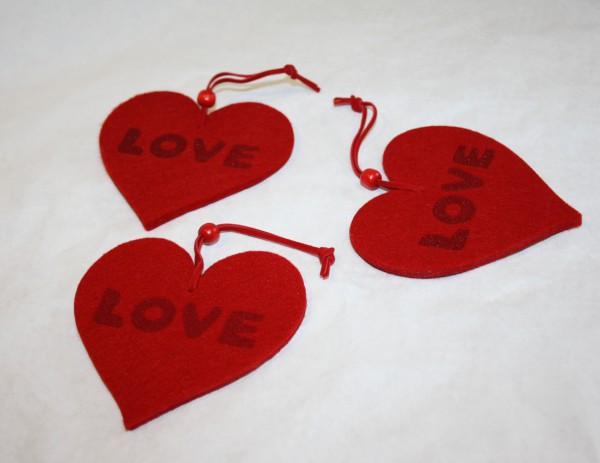Filzherz love