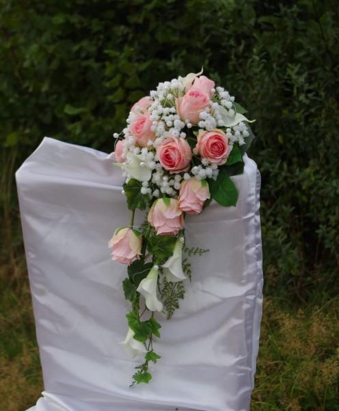 Rosenstrauss rosa mit Callas