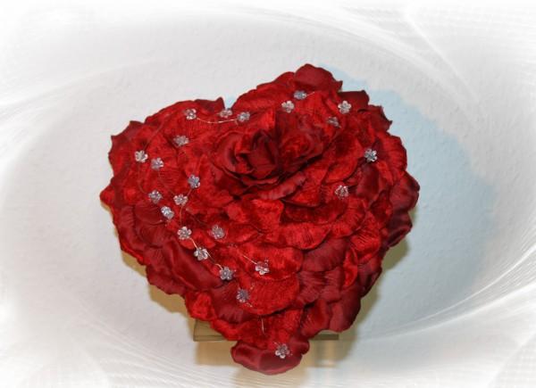 Brautstrauß Herzstrauß Rosen