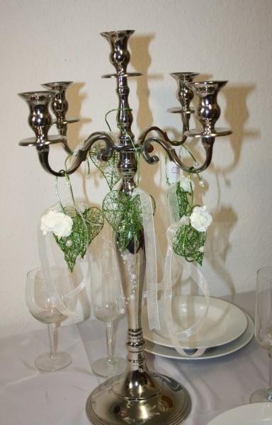 Kerzenleuchter deko herzen