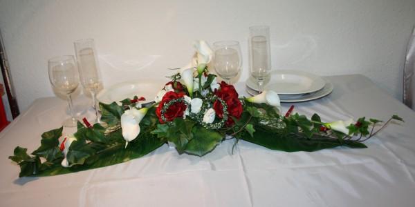 Paargesteck callas und rosen