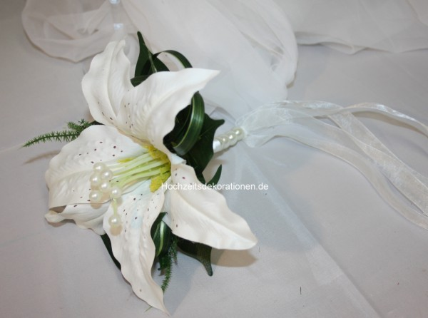 Brautstrauss grosse Lilie