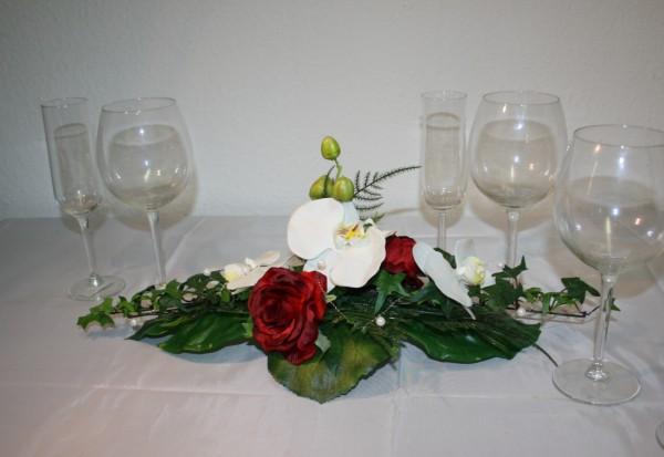 Tischgesteck orchidee hochzeit