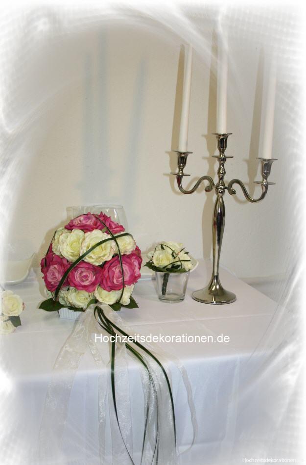 Altargesteck Rosenkugel Hochzeitsdekorationen