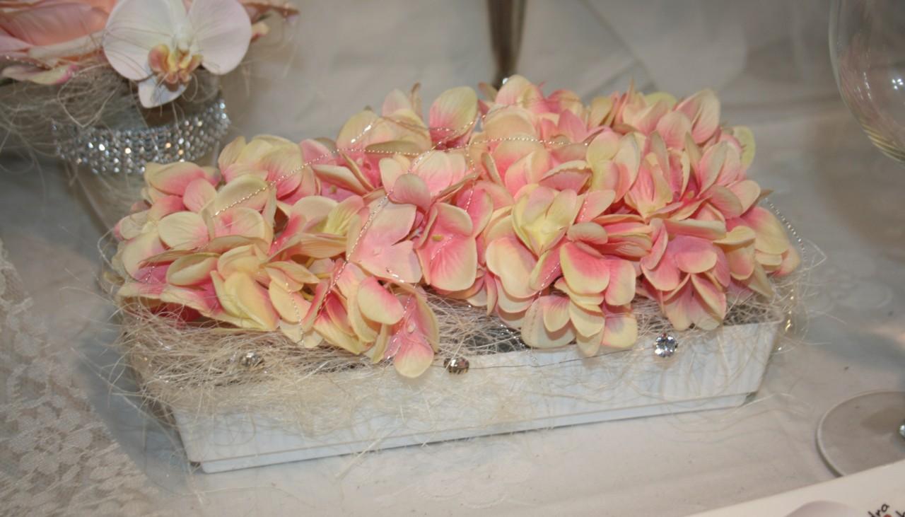 Vintage Gesteck Hortensien Hochzeitsdekorationen