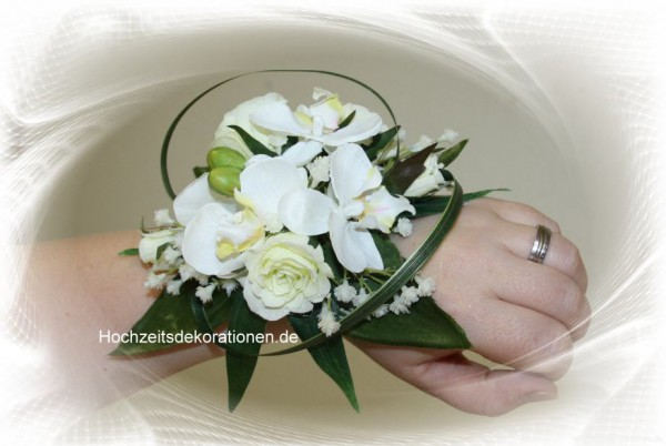 Braustrauss Handgelenk Orchidee
