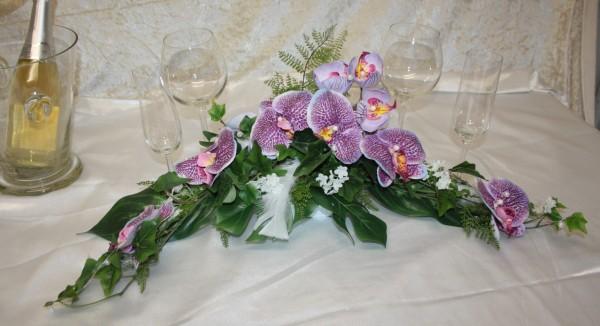 Orchideen mit Federn