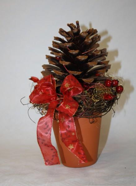 Zapfentopf weihnachten