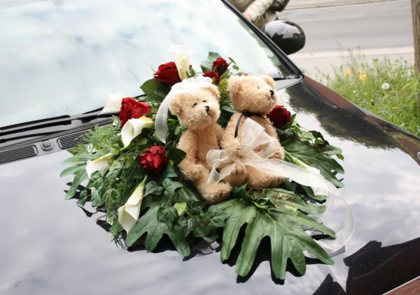 Autoschmuck Bärenhochzeit