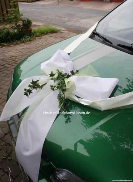 Autoschleife Hochzeit Calla