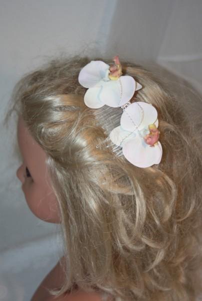 Haarkamm Vintagehochzeit Haarschmuck