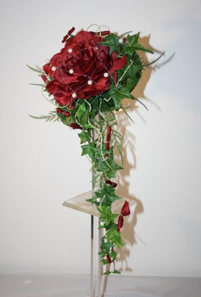 Brautstrauss 1 Rose