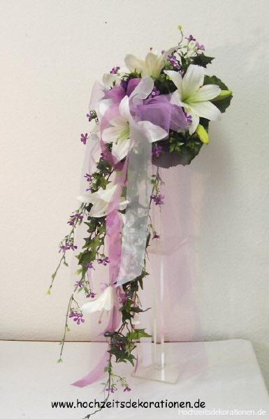 Bridebouquet Lilies