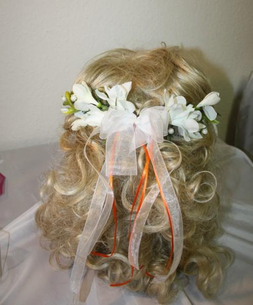 Hochzeit Haardeko