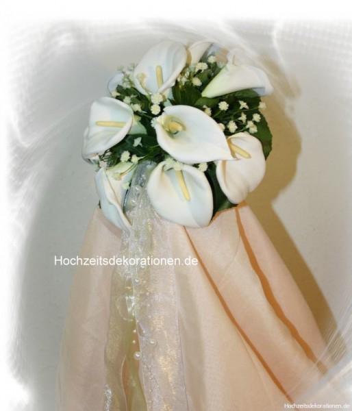 Brautstrauss Callas Pur Klein Hochzeitsdekorationen