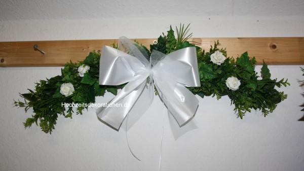 Türbogen Hochzeit Schleife