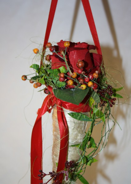 Rosendeko zum Hängen Sisaltüte