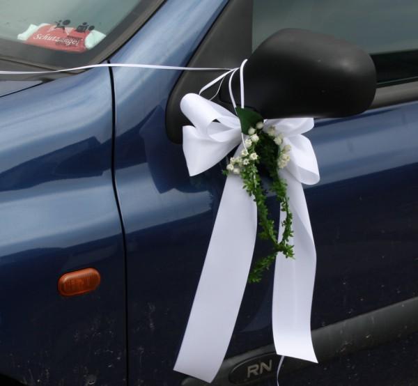 Autoshcleife Hochzeit maiglöckchen