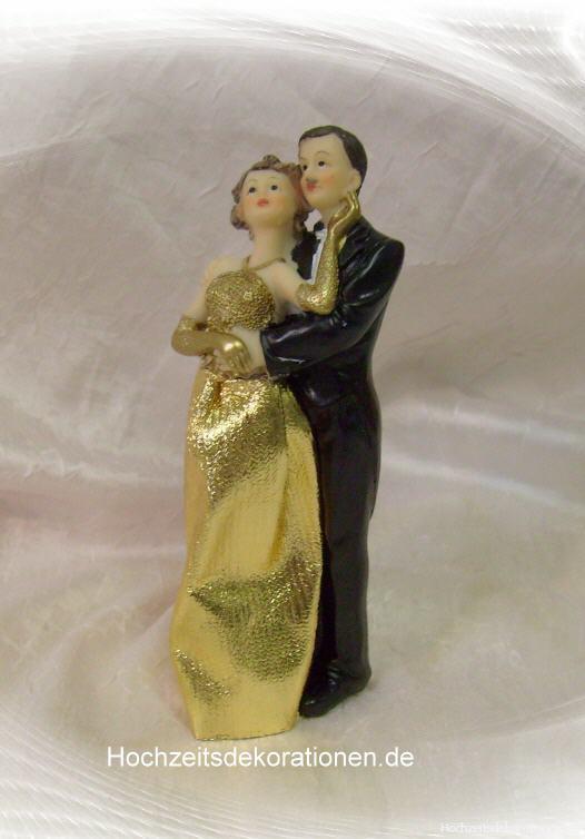Kuchendeko Goldene Hochzeit