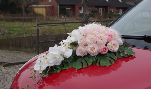 Autoschmuck rosa