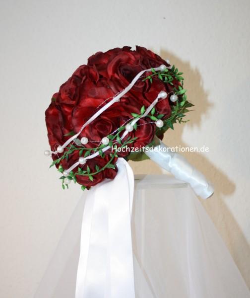 Rosenkugel Hochzeit satin