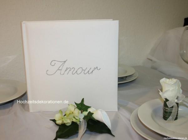 Gästebuch Amour hochzeit